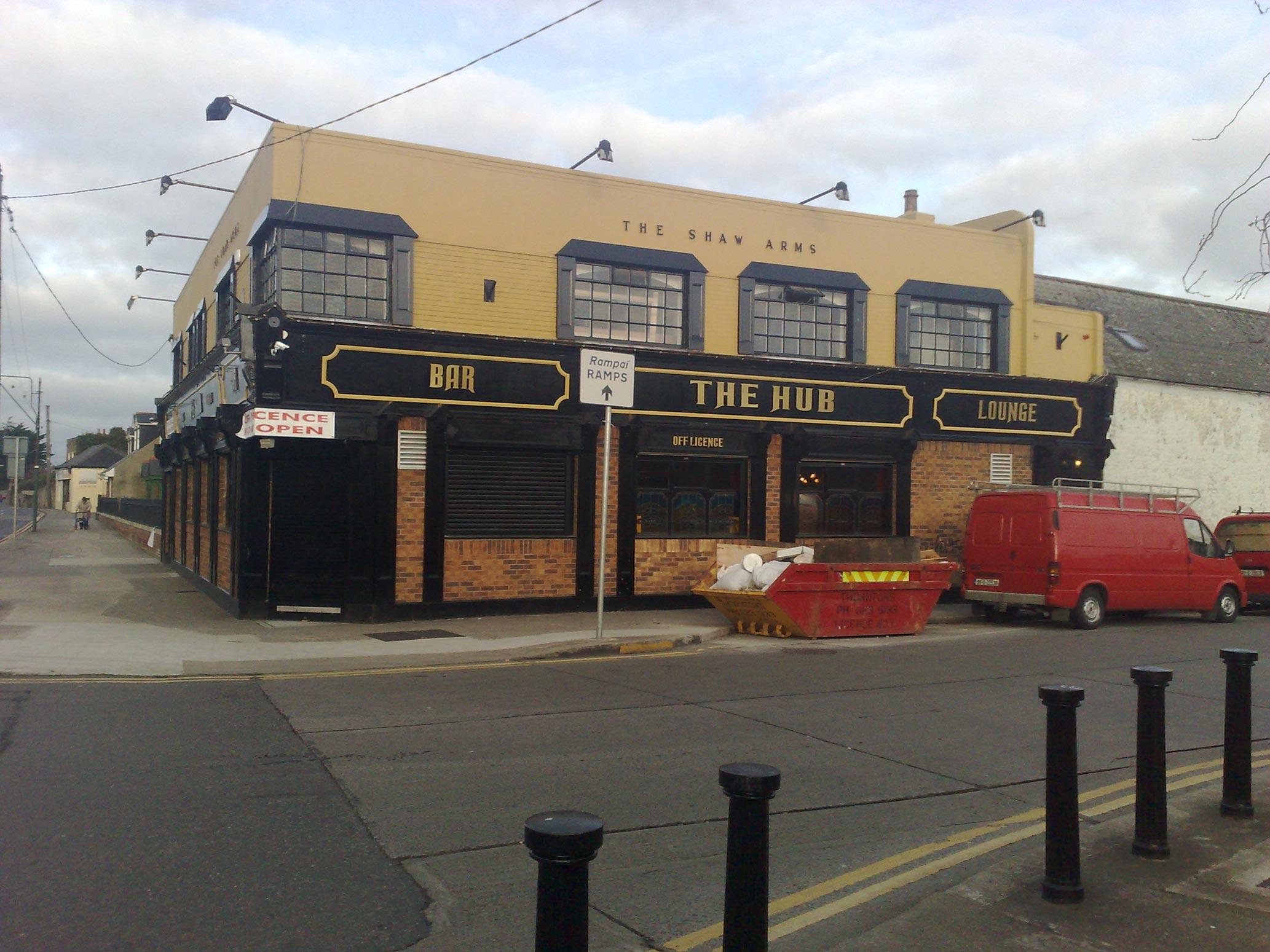 Extension To The Hub Bar Crumlin Village Dublin 12