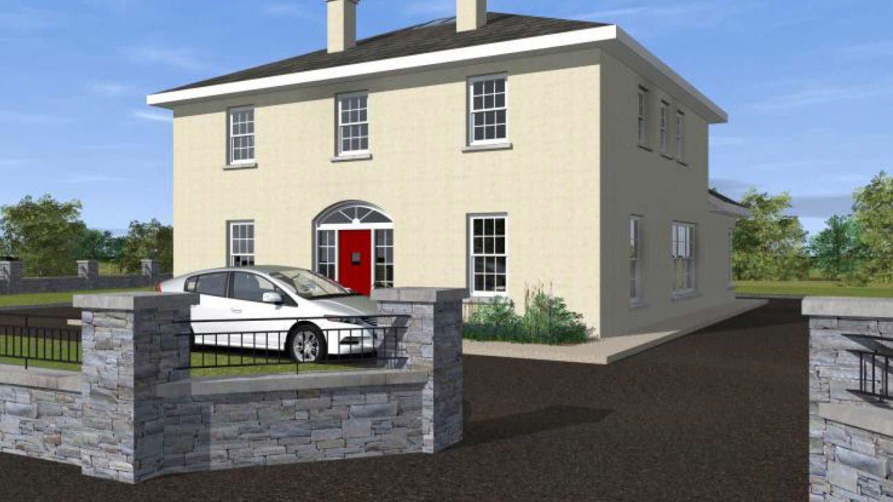 Two Storey Dwelling House –