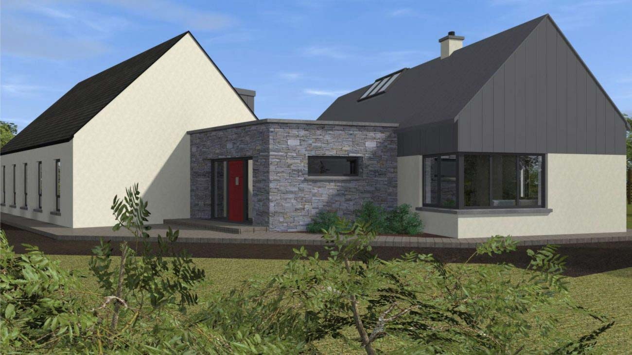Dormer Style Detached Dwelling House