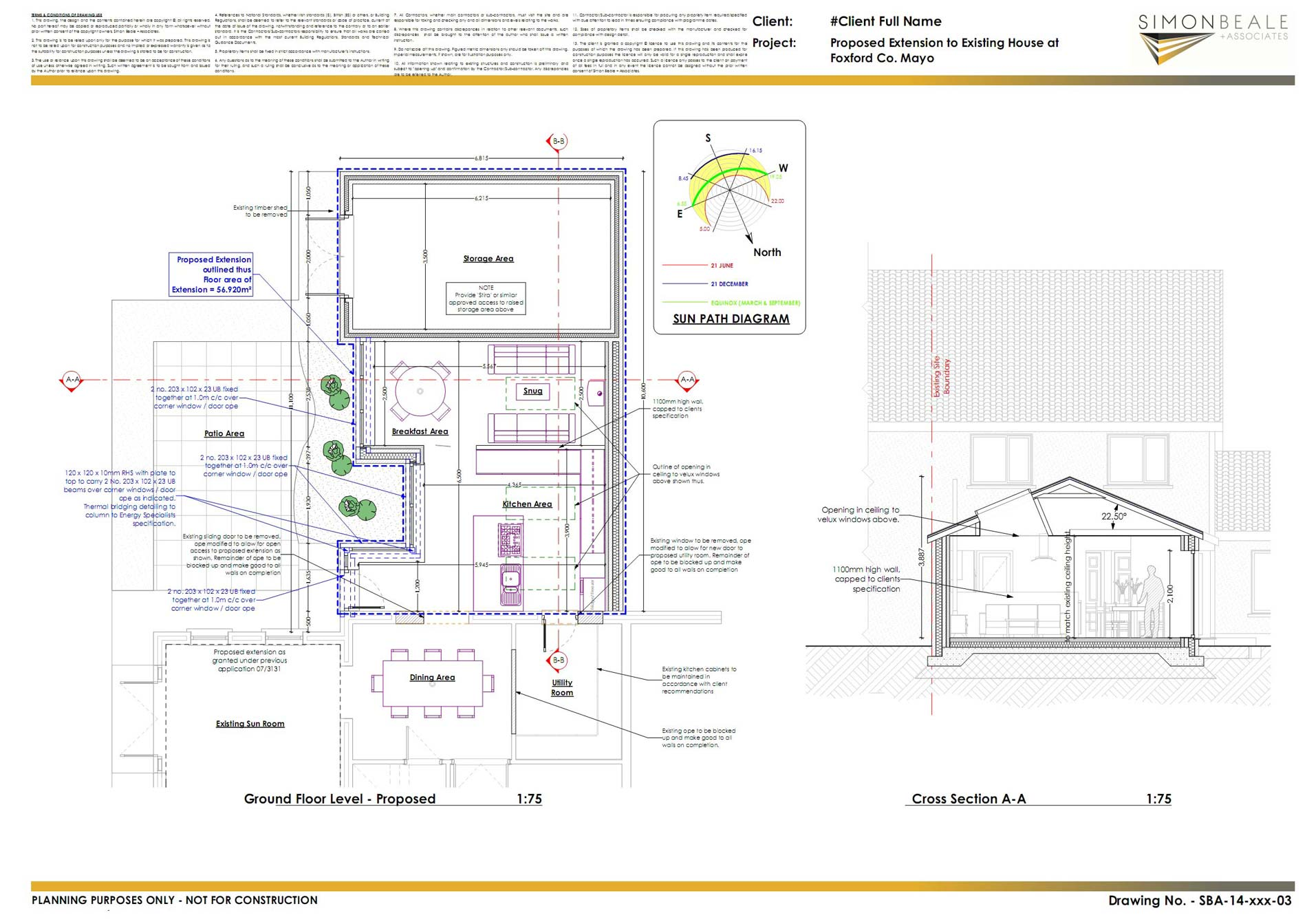 Ground floor plan and section_pagenumber.001